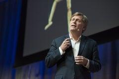 "Professor Mike McFaul reflects on ""The Trump-Putin Bromance."" © Linda A. Cicero / Stanford News Service"