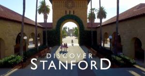 Stanford campus archway