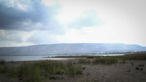 Sea of Galilee receding