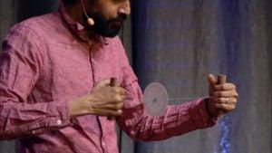 Prakash at TEDx