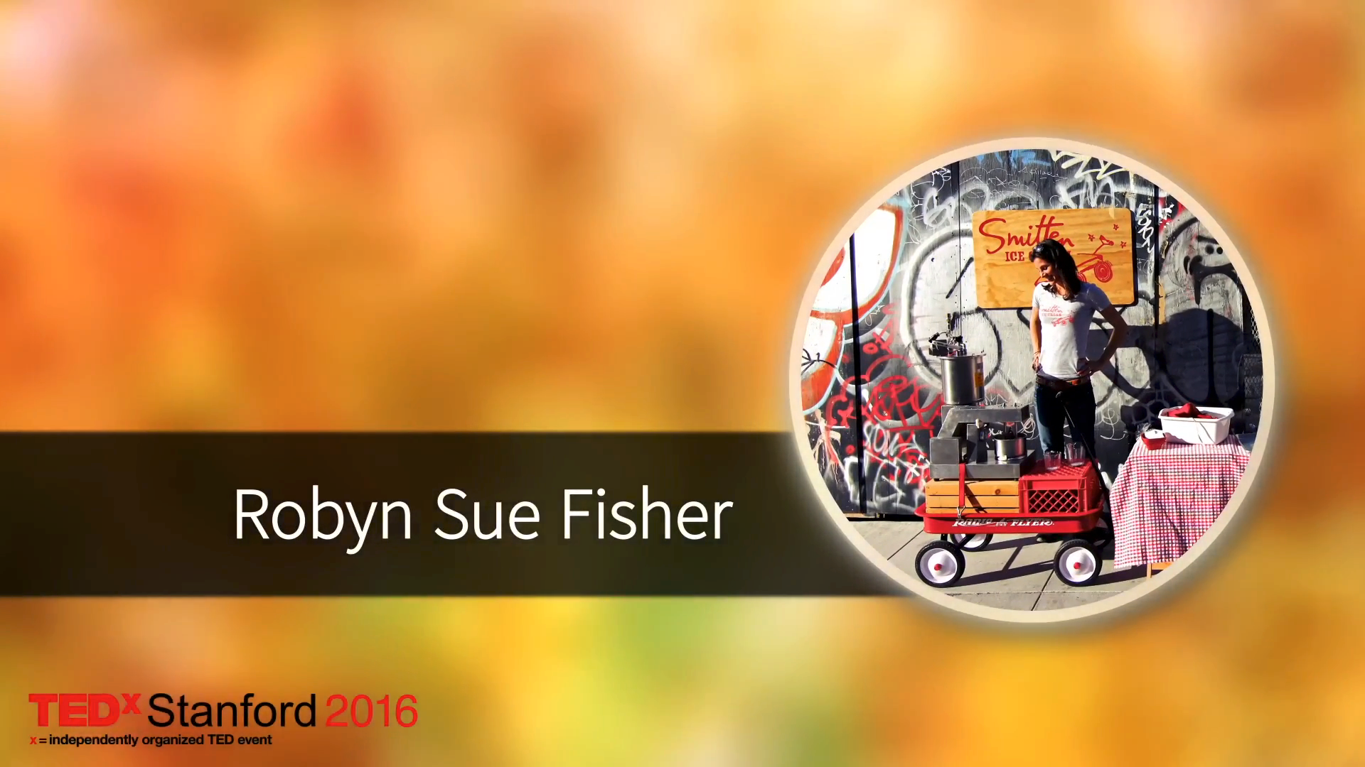 TEDx: Robyn Sue Fisher